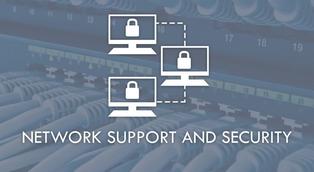 network support and security